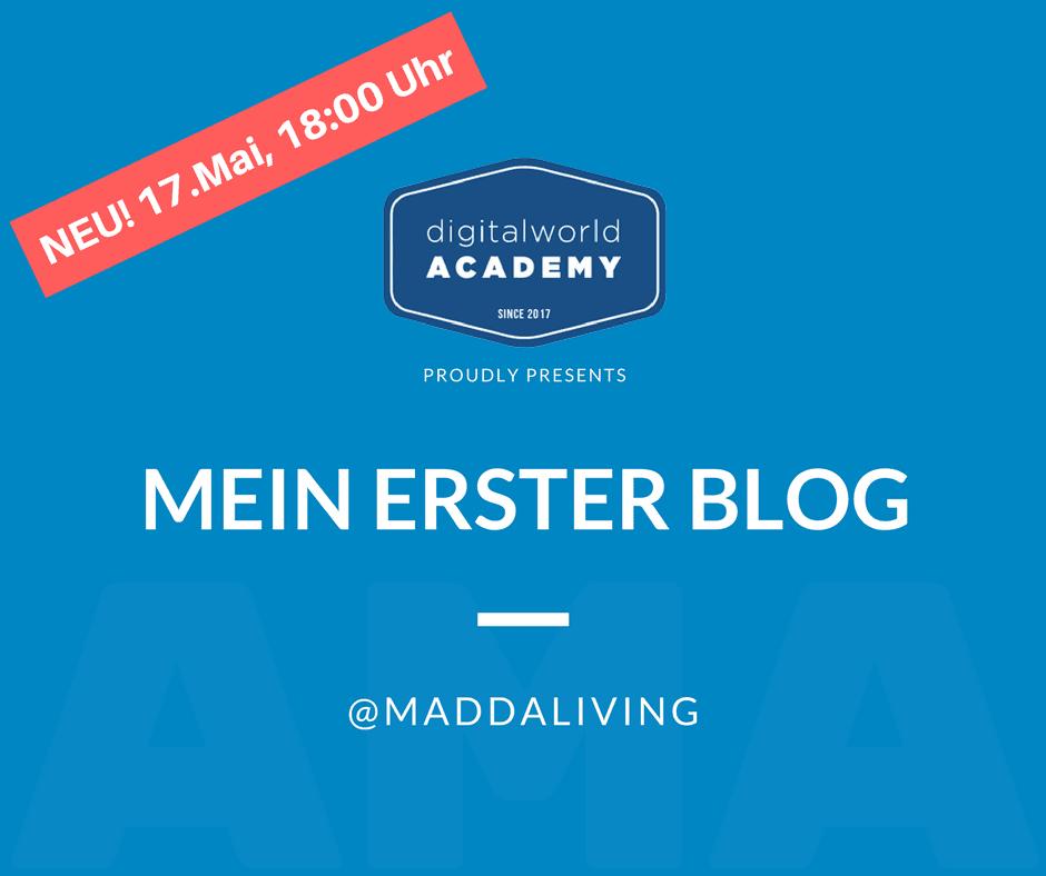 Das neue Workshop Format rund um das Bloggen