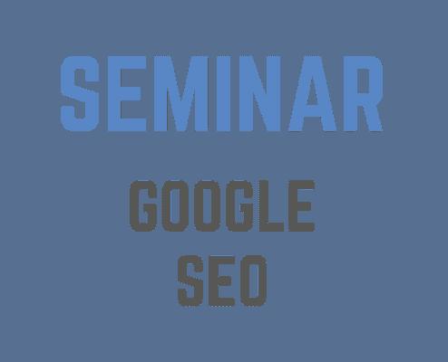 Google SEO Seminar mit Heinz Duschanek